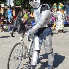 By far the best costume during the Willy Street Fair Parade, September 14, 2014.