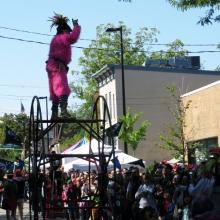 The Willy Street Fair Parade, September 14, 2014.