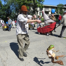 The Willy Street Fair Parade, September 14, 2014.
