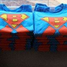 Help Blake Beat Burkitt's T-shirts were very popular. Photo by: Brett Williams