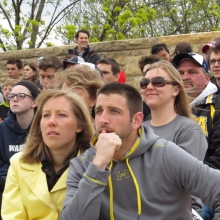 A fair amount of AUDL fans are family and friends who travel with the team.