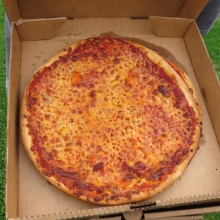 The Roman Candle Pizza Toss utilizes an overcooked pizza.