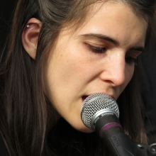 One of Mother Falcon's lead vocalists.
