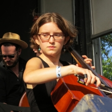 .Mother Falcon was founded by cellists and has three players.