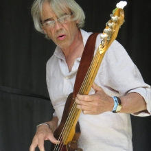 New Orleans Suspects bassist Reggie Scanlan.