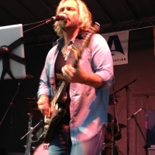 Anders Osborne performs during the Orton Park Festival on Sunday, August 26, 2012.