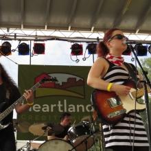 Lydia Loveless. Orton Park Festival, August 24, 2014