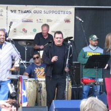 Madisalsa during the final performance of the Willy Street Fair, September 14, 2014.