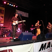 Ester Rada a soul, Nu-Soul and funk artist from Israel is transfixing the packed crowd at the Willy Street Fair Saturday September 19, 2015.