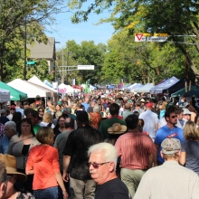 Willy Street Fair Sunday September 20, 2015.