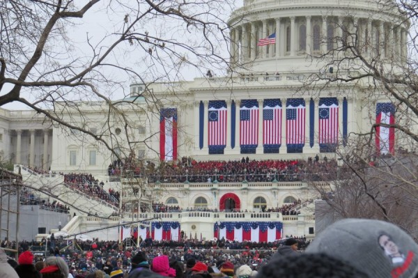 The second Inauguration of President Barack Obama - January 21, 2013.