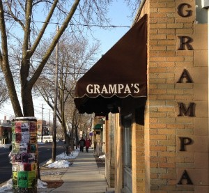 "Altschul purchased a few guns from Gleasman to hang on the walls as reminder of how long the space has been known as ""Grampa's""."