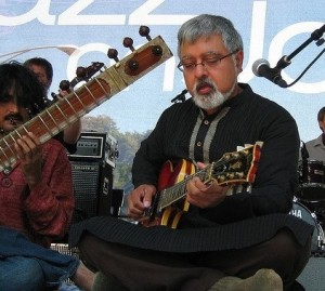 Fareed Haque and the Flat Earth Ensemble will play on Saturday June 8.