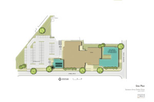 The proposed site plan for the upgraded Salvation Army Darbo Campus.