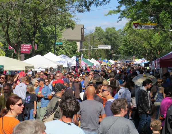 The Willy Street Fair, September 14, 2014.