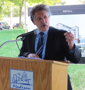 Madison Mayor Paul Soglin.