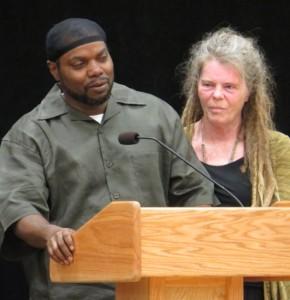 Tony's Grandparents Tyrone Henry (left) and Sharon Irwin.