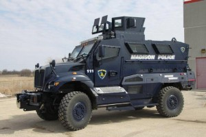 Madison Police SWAT vehicle. Courtesy: WRN.com