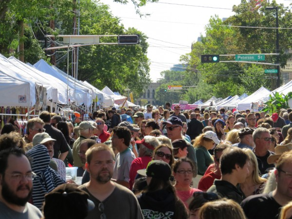 The Willy Street Fair is this weekend, September 19-20 2015.