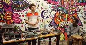 Colombian EDM duo Mitu.