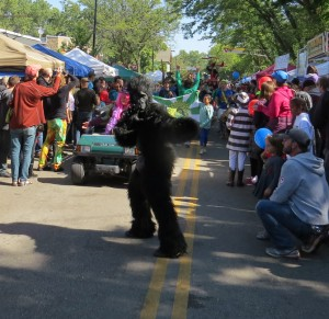 The Willy Street Fair is always fanciful, exhilarating and intense.