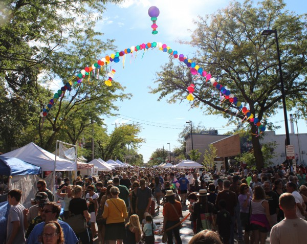 The sun and clear skies were two of the stars of the 2015 Willy Street Fair.